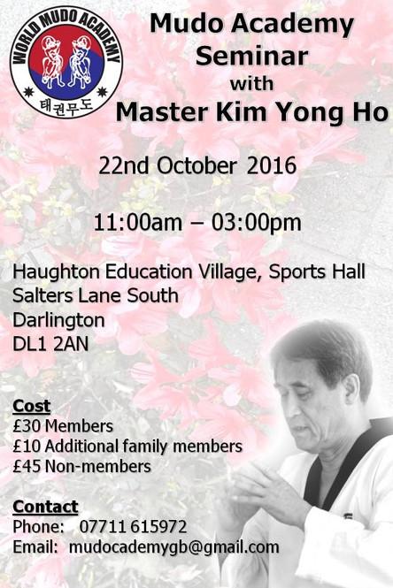 Master Kim Yong Ho Seminar
