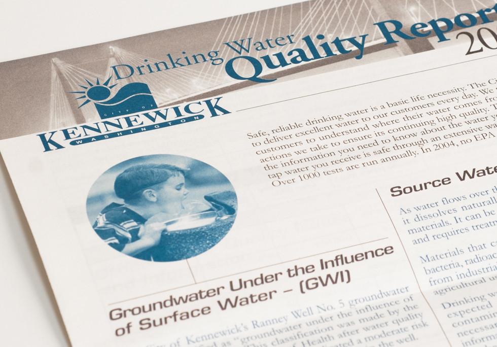 Kennewick, WA's Water Report Newsletter