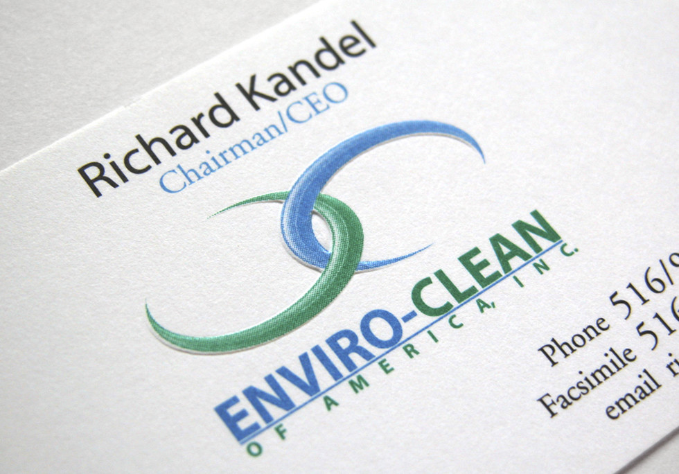Enviro-Clean Logo and Business Cards