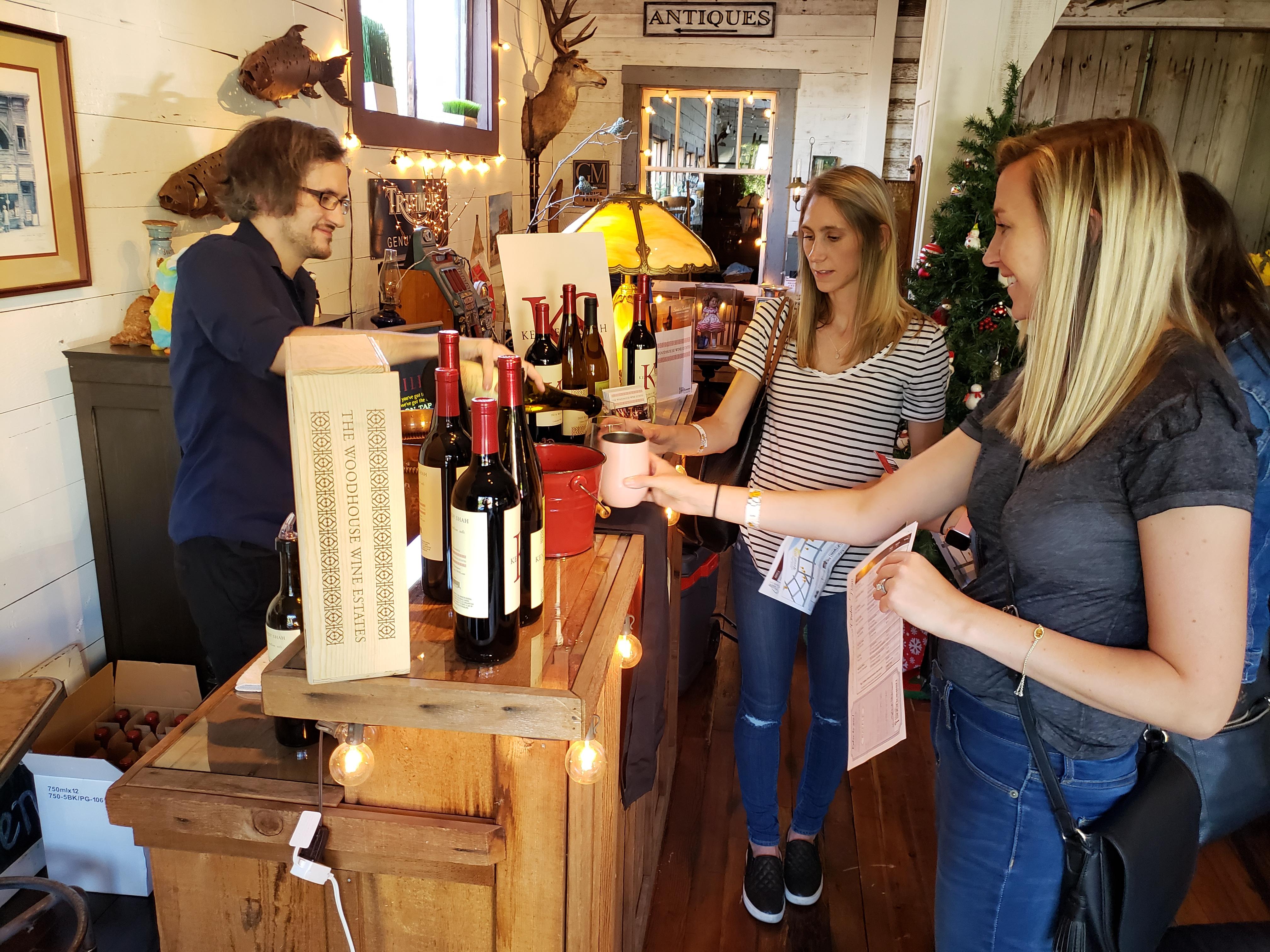 Woodhouse2 June 8 wine walk