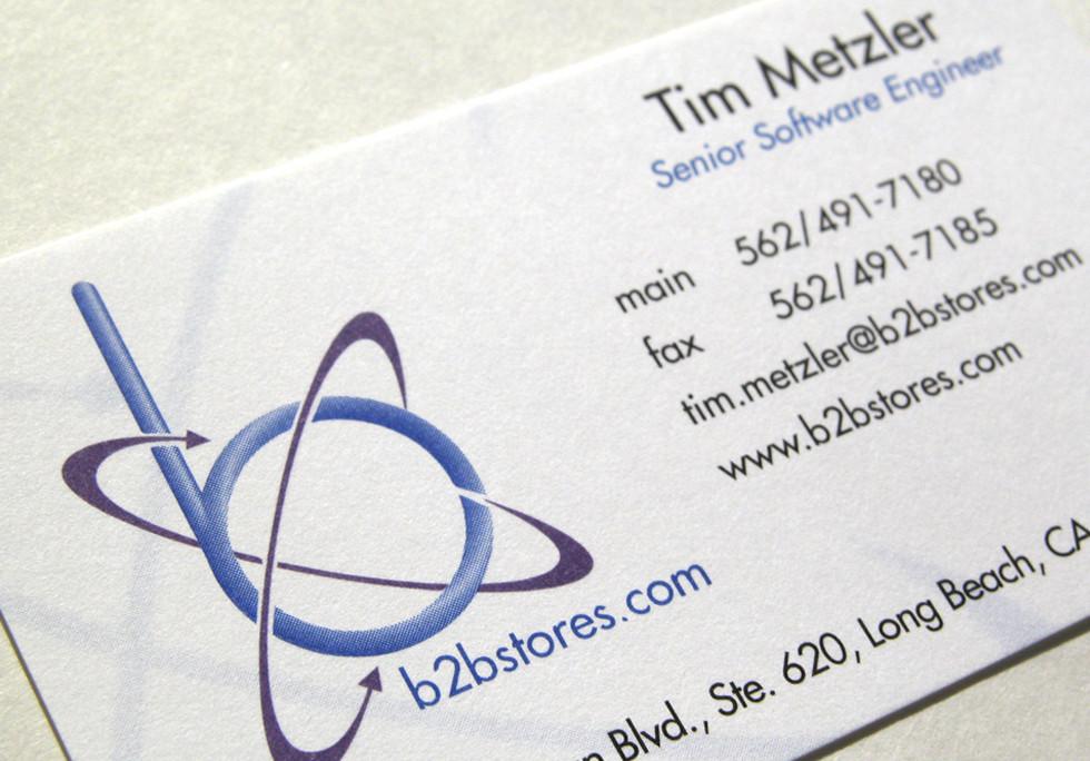 b2bstores.com Logo & Business Cards