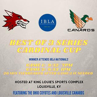 BEST OF 3 SERIES CARDINAL CUP WINNER ATT