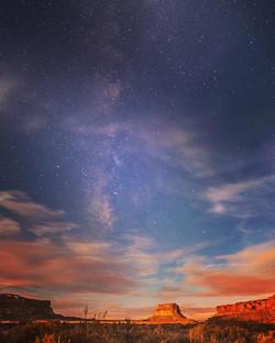 Chaco Canyon National Park Stars