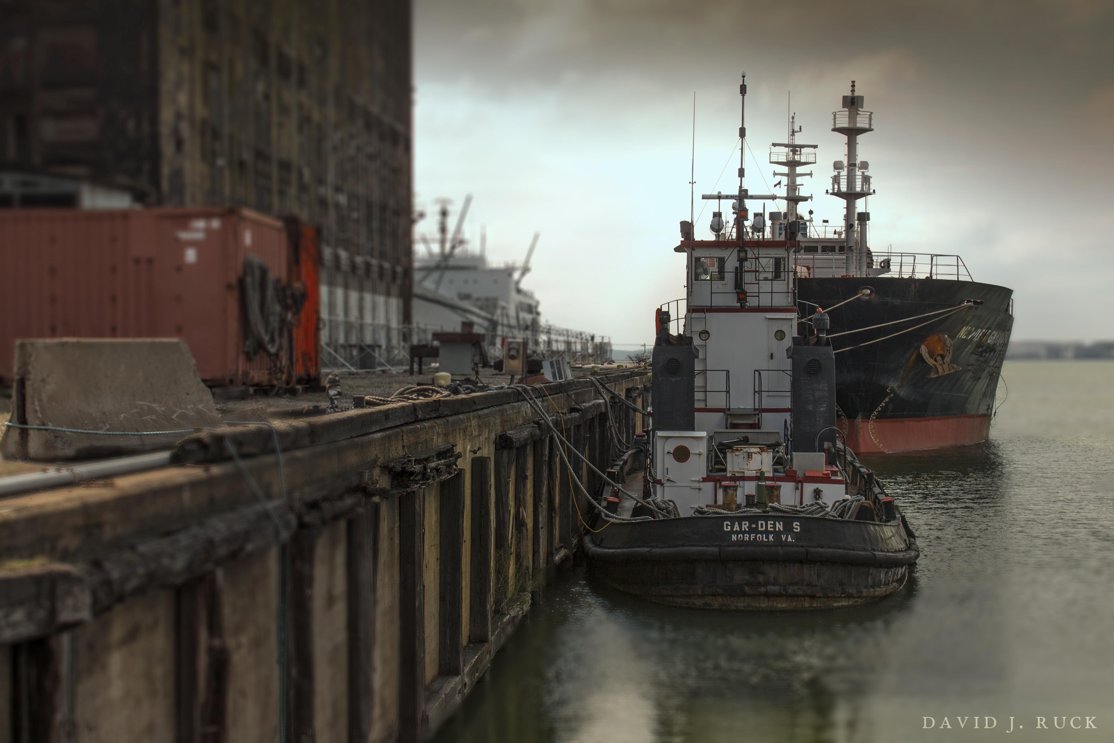 Baltimore Tug Boats