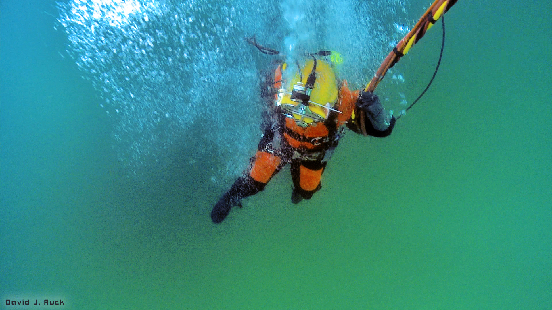 Commercial Diver Lake Michigan