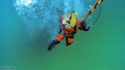 Commercial Diver Lake Michigan
