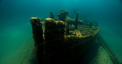 Wreck of the D.M. Wilson Thunder Bay