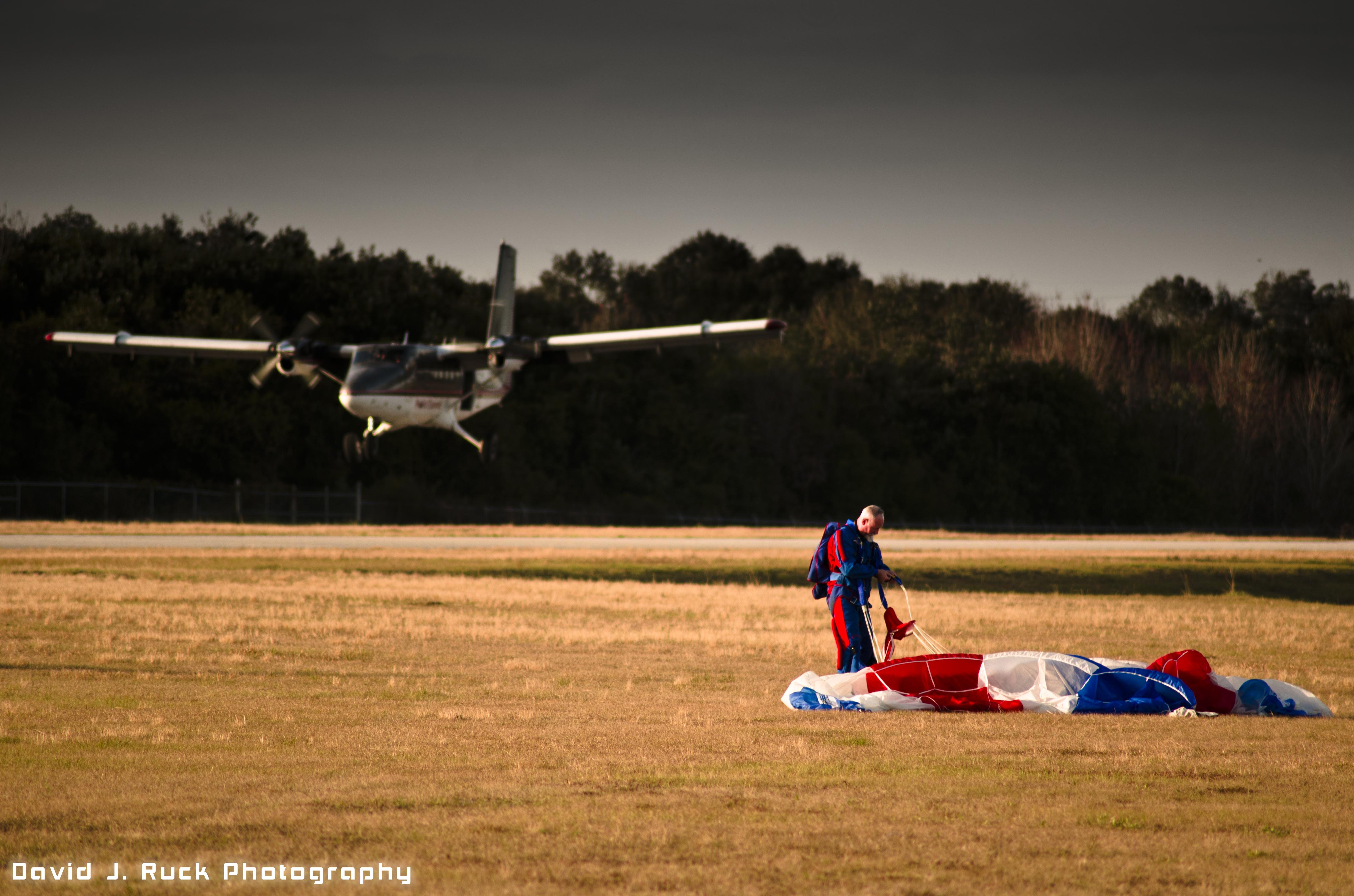 Skydiving at Lake Wales, Florida