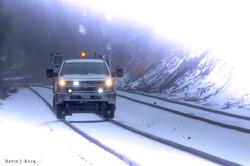 CSX Inspection Vehicle