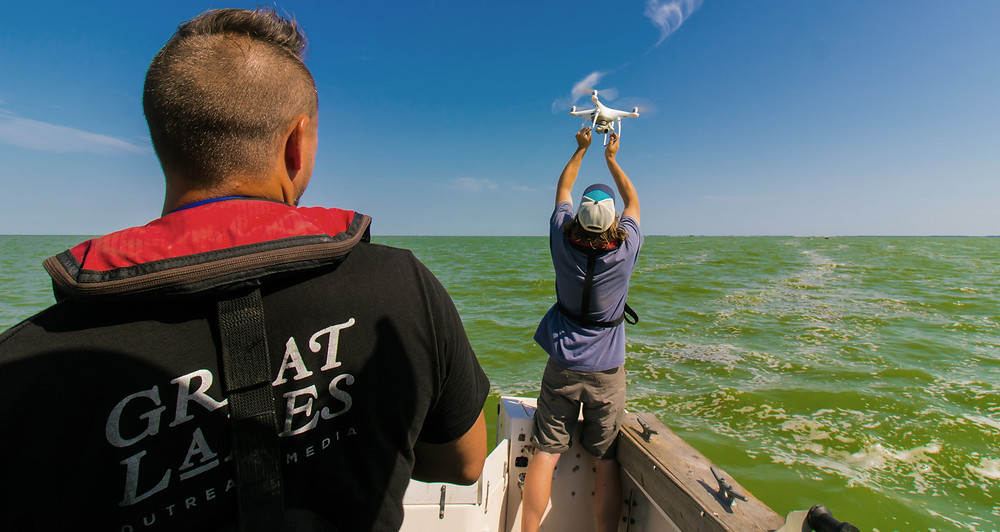 Launching a Drone