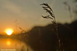 Sunrise over Duck Lake, Michigan