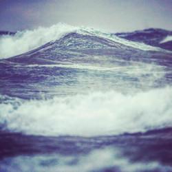 Angry Lake Michigan Waves