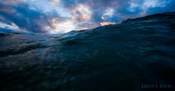 Waves Crashing Lake Michigan