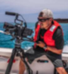 David Ruck filming