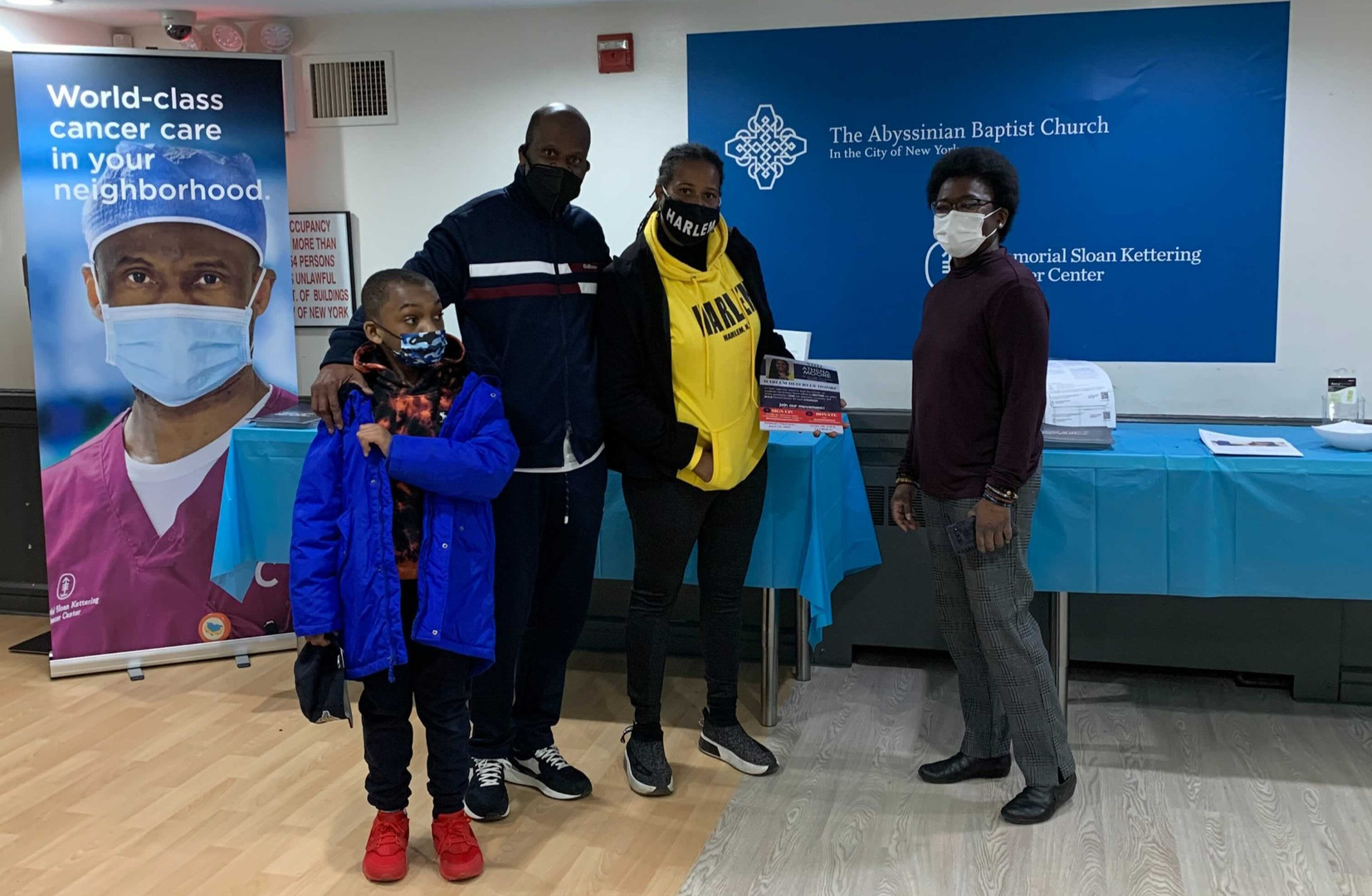 Vaccine Center at Abyssinian Baptist Church