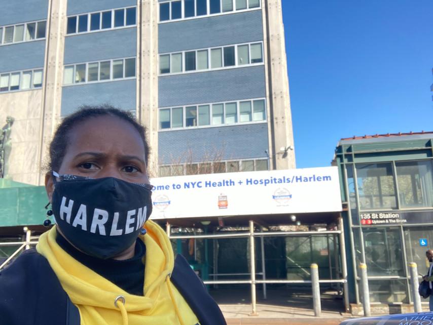 Testing Site - Harlem Hospital