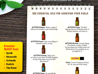 Use Essential Oil to Achieving your Goals