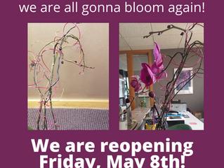 We're gonna bloom again.