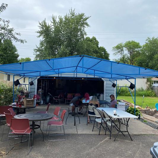 20x20 Graduation Party Tent Rental