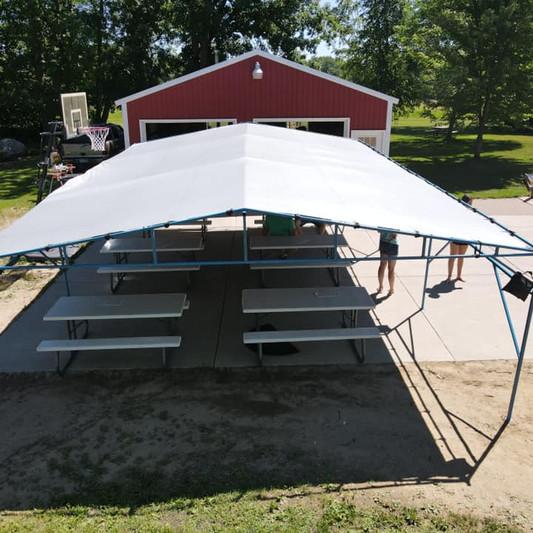 20x30 Graduation Tent Rental