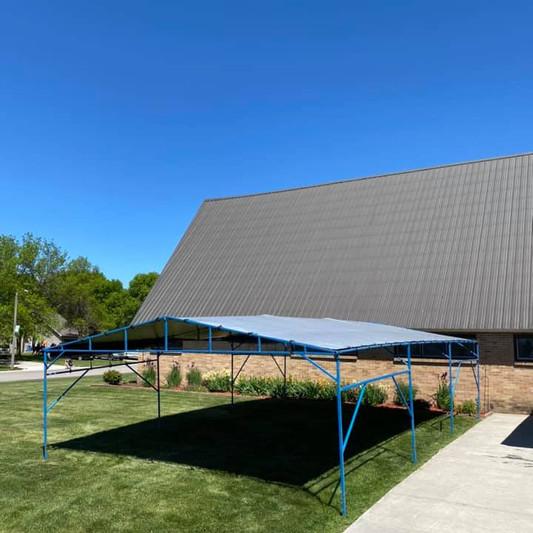 20x30 Funeral Tent Rental