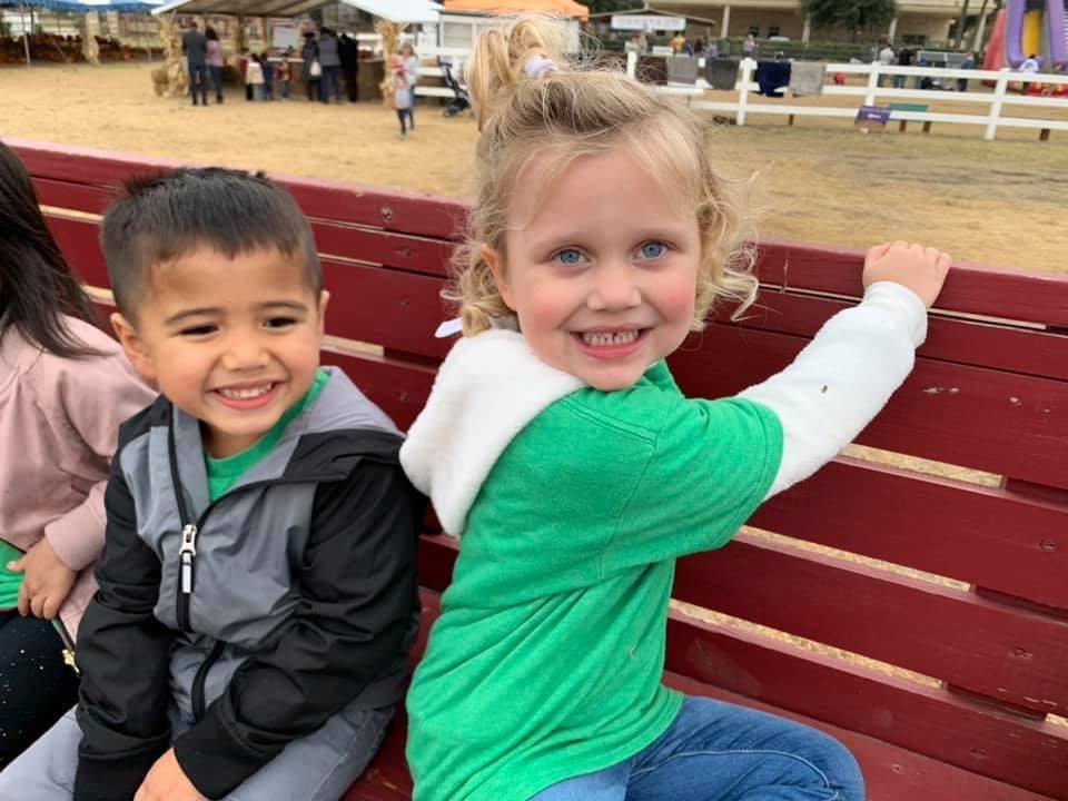 Summer camp kids on a field trip in Frisco