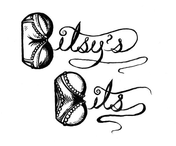 "Logo by Adam Scott Mazer for the show I produce ""Bitsy's Bits."""