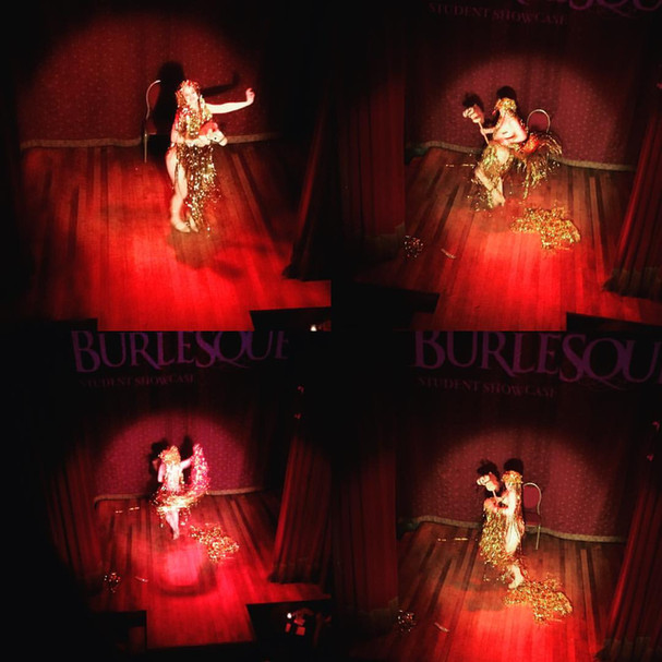 Lady Godiva Act at the Slipper Room. Photography by Ramona Meow.