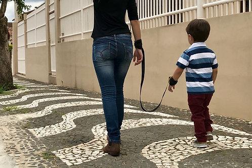 Guia de pulso para passeio infantil