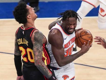 Randle leads Knicks to O/T win