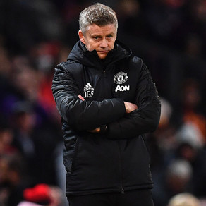 Ole's at the wheel but he can't seem to turn the corner