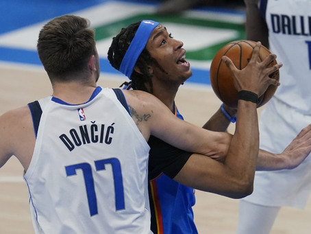 Three-pronged attack eases Dallas past OKC