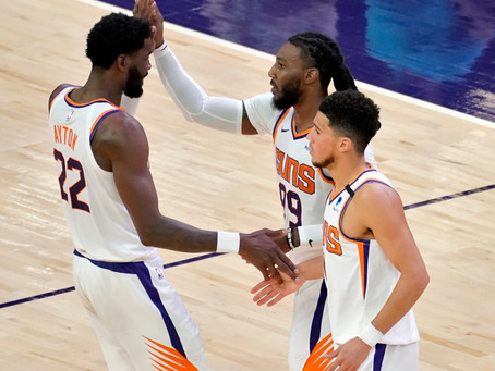 Crowder leads the Suns past Houston