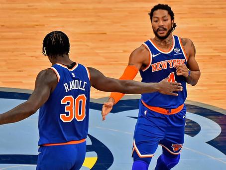 Knicks secure first winning season since 2013