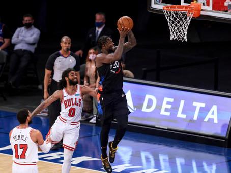 Knicks outlast Chicago at The Garden