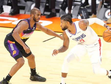 Suns secure playoff place with win vs Clippers