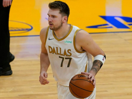 Lights out Luka, Mavericks blowout Warriors