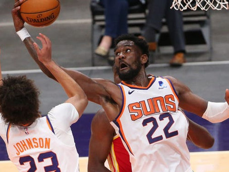 Suns close out Hawks to make it three straight