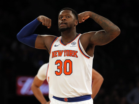 Knicks hold off Raptors fightback to secure win