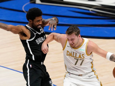 Mavericks cement playoff place with win over Brooklyn