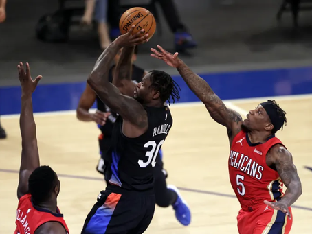 Knicks take down the Pelicans in O/T