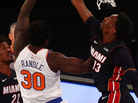 Miami too hot to handle for the Knicks