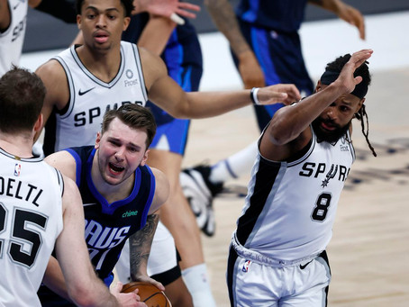 Mavericks fall short late on against the Spurs