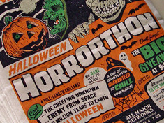 Surviving a Horrorthon . . .
