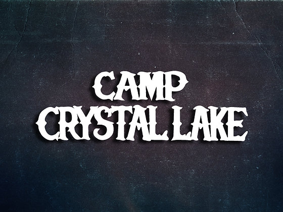 Camp Crystal Lake Vinyl Decal