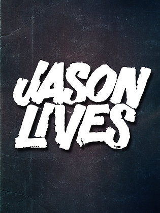 Jason Lives Vinyl Decal