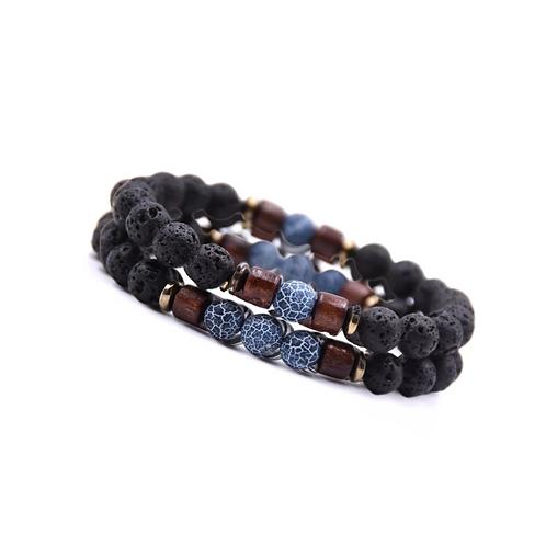 Tibetaanse blue Stone armband