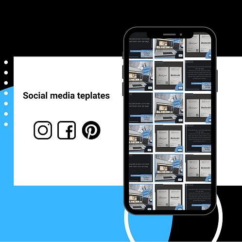 Social media Premium set