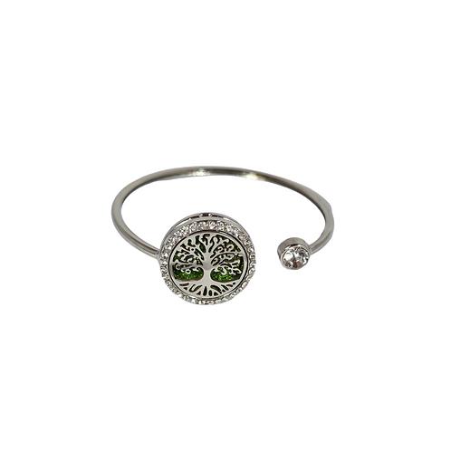 Tree of life Aroma ring armband
