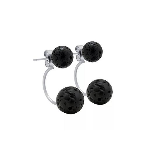 Lava Stud oorbellen